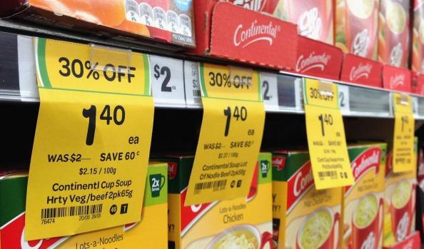 Supermarkets sale