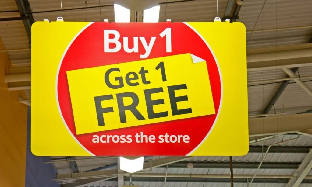 buy 1 get 1 offer