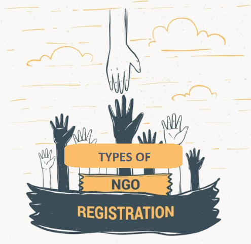 Types of NGO Registration India